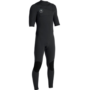 Vissla 7 SEAS 2/2mm SS FULL SUIT STEAMER, Black With Jade