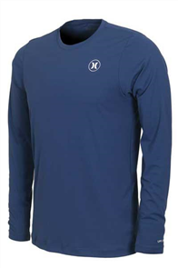 Hurley Dri-Fit Icon Long Sleeve Rash Vest 44B