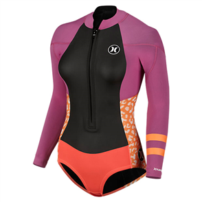 Hurley Womens Fusion 202 Ls Springsuit 63D