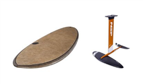 NSP Coco Hybrid Foil + Hydrofoil Airwave Mast Combo