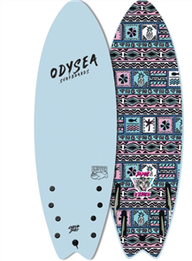 Odysea JOB  Skipper Pro Quad Softboard, Sky Blue 20