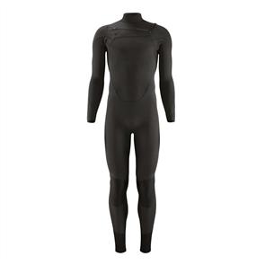 Patagonia Men's R1 Lite Yulex Front-Zip Full Suit, Black