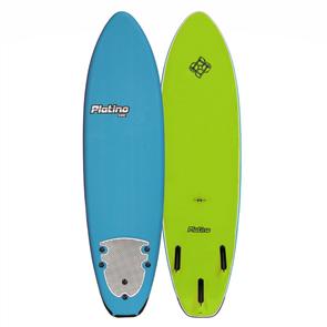 Platino HDPE Soft Surfboard, AZ BLUE/LIME