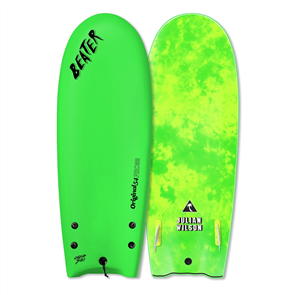 Beater Original 54 Pro Twin Fin Soft Board, Julian Wilson Lime