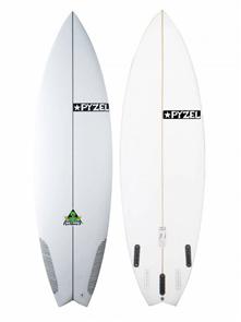 Pyzel Pyzalien 2 XL Surfboard with 3 or 5 FCS Fin Plugs