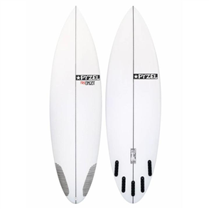 Pyzel Mini Ghost Surfboard with 5 Future Fins