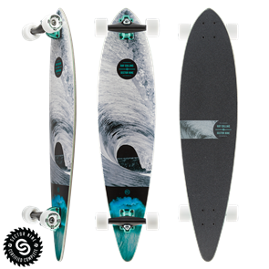 "Sector 9 Longboards Ray Collins Merchant (38.0"" x 8.75"" WB - 25.75"")"