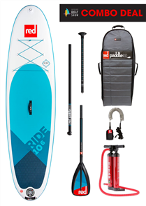 "Red Paddle Co 10'6"" Ride Inflatable Sup 2018 Model"