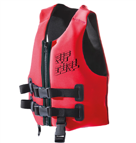 Rip Curl Youth Omega Buoyancy Vest, Red