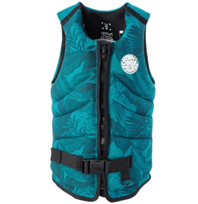 Rip Curl Womens Dawn Patrol Buoy Vest, Green