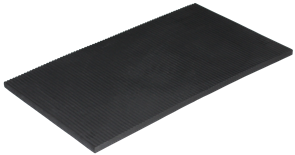 Curve Surfboard Wall Rack Vertical Rubber Mat