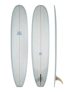 Salt Gypsy Surfboards & SUP Dusty Retro Longboard, Vintage Navy Tint