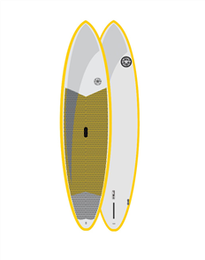 Tom Carroll Outer Reef MX Molded Yellow Rail Sup