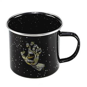 Santa Cruz Camo Hand Mug, Black