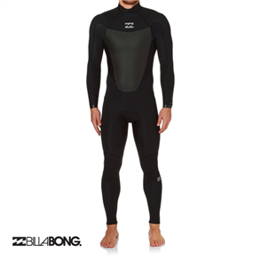 Billabong Absolute Comp 3/2mm Back Zip Full Steamer