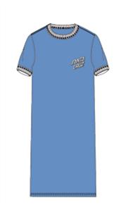 Santa Cruz Sc Strip Tee Dress, Pwdrblue