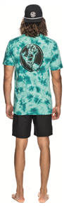 Santa Cruz Handled Tie Dye Tee, Jaded