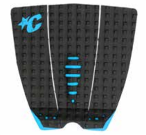 Creatures Of Leisure Mick Fanning Lite Tail Grip Pad, Black Cyan