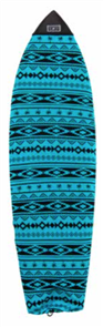 Creatures Of Leisure Fish Navajo Surfboard Sock , Blue Black