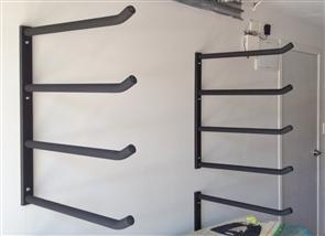 Curve Surfboard Wall Rack - Quad Steel