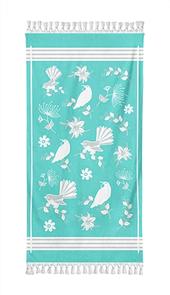 Moana Rd Beach Towel - NZ Birds