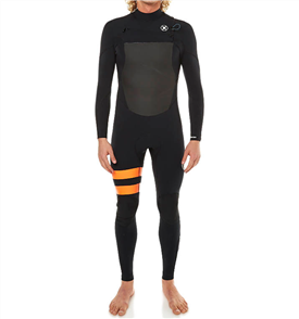 Hurley Youth Fusion 302 Full Suit, 00AB Black B