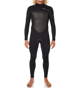 Oneill Psychofreak Fuze 4/3mm Chest Zip Steamer, J94 Black