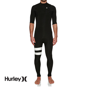 Hurley Mens Advantage Plus Superheat 2/2mm Short Sleeve Full Suit Wetsuit,