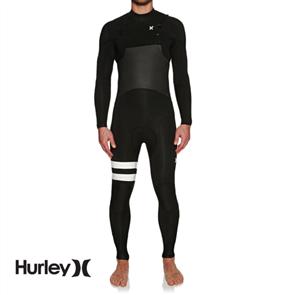 Hurley Mens Advantage Plus Superheat 4/3mm Full Suit Wetsuit, 00A
