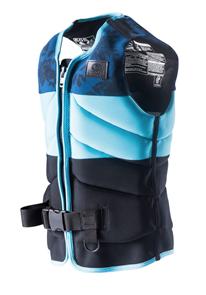 Rip Curl Womens D/Patrol Buoyancy Vest, 0070 Blue