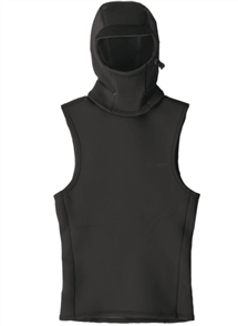 Patagonia Yulex Water Heater Hooded Wetsuit Vest, Black