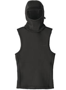 Patagonia Yulex Water Heater Hooded Wetsuit Vest, Black