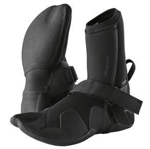 Patagonia R3 Yulex Split Toe Booties, Black