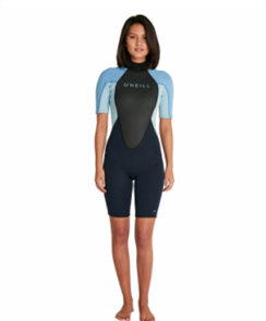 O'Neill WOMENS REACTOR II BZ SS SPRING 2MM SS SPRINGSUIT, ABY/PRB