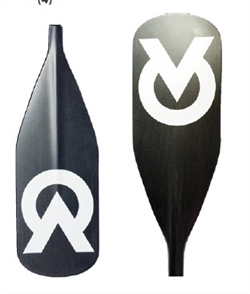 Agenda Fixed Paddle Dagger - Carbon