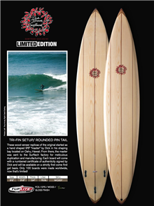 Dick Brewer Brewer Gun Tuflite Pro Carbon Surfboard
