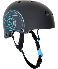 Sector 9 Longboards Logic Ii Helmet, Black, Black