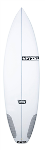 Pyzel Shadow Surfboard with 5 Future Fins