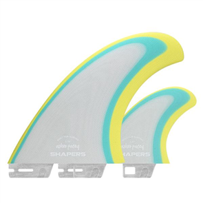 "Shapers AP 5.79"" S2 Base Grey Ltd Edition Pro Glass Twin Fin"