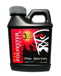 Phix Doctor Sunpowered Polyester Laminating Resin 240Ml
