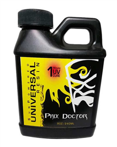 Phix Doctor Sunpowered Universal Resin Epoxy 240Ml