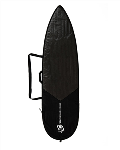 Creatures Of Leisure Shortboard Icon Lite Surfboard Bag, Black/ Silver
