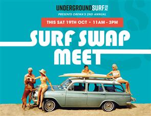 US Surf Swap Meet Registration Booking Ticket - SAT 19th OCT 2019