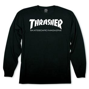 Thrasher Skate Mag L/S Tee, Black