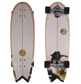 "SLIDE Wahine Swallow Noserider 33"" Surf Skateboard"