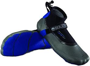 Solite Boots 2mm Custom Reef Booties, Black/Blue