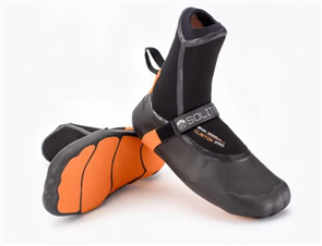 Solite 6mm Custom Pro Booties, Black/Orange