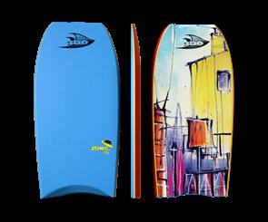 "Manta Sonic Bodyboard, 2017-18, Sky Blue, Size 37"""