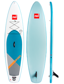 """Red Paddle Co 12'6"""" Sport Inflatable Sup 2018 Model"""