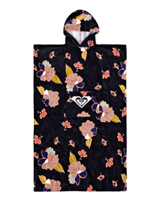 Roxy STAY MAGICAL TEENS HOODED TOWEL, Anthracite New town